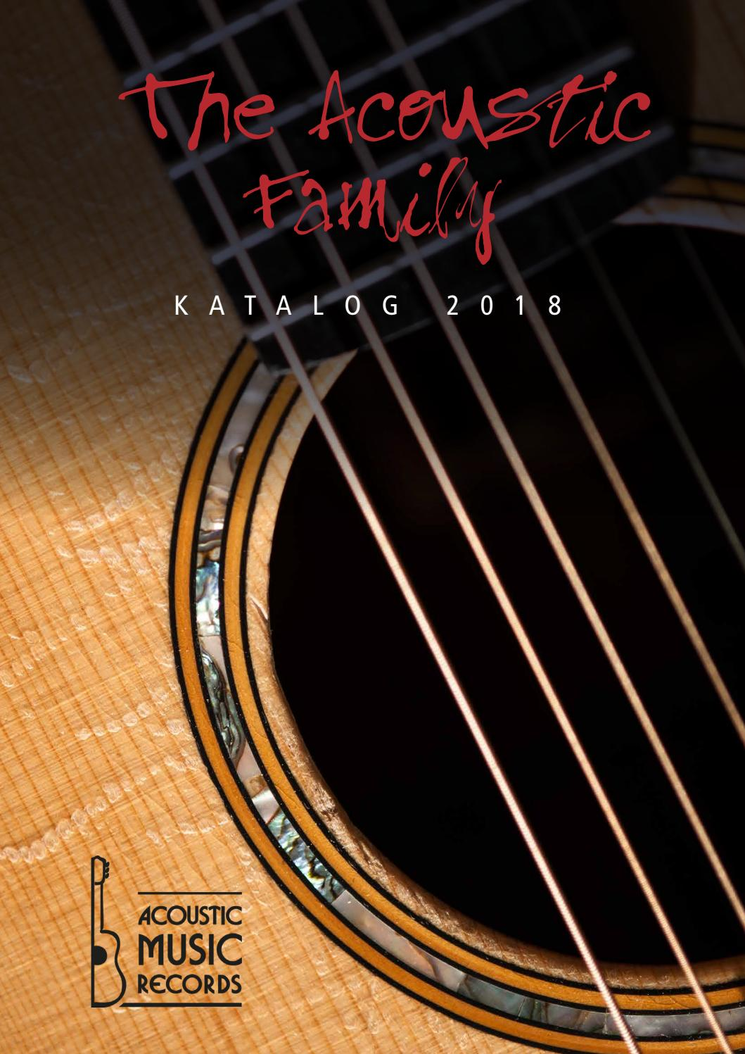 Acoustic Music Gesamtkatalog 2018 by Acoustic Music GmbH & Co. KG ...