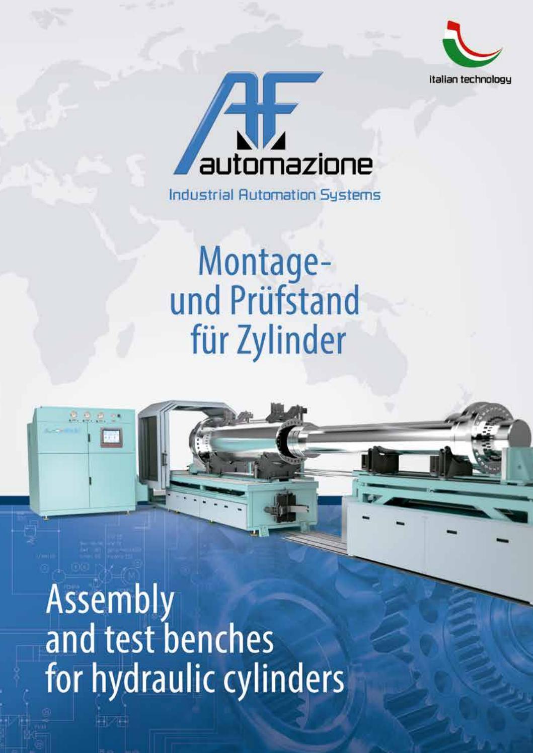 Montage-und Prüfstand für Zylinder by A.F. Automazione - Issuu