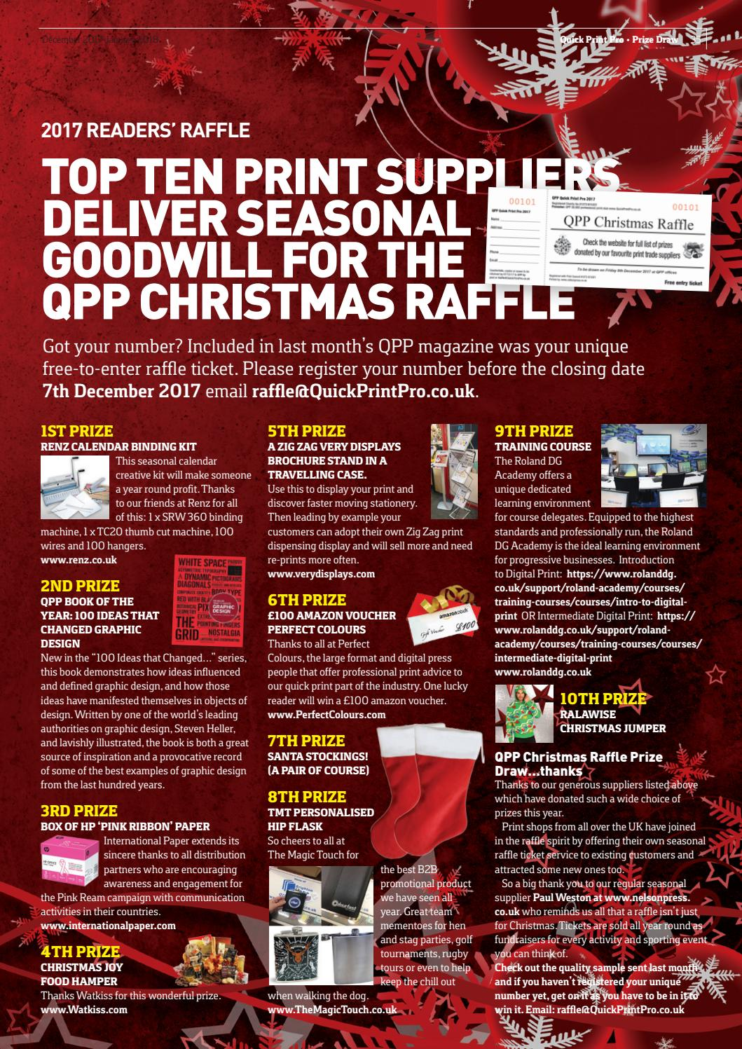 QPP December 2017– January 2018 by The Magazine Production