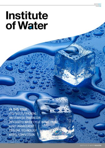 institute of water magazine winter 2017 by institute of