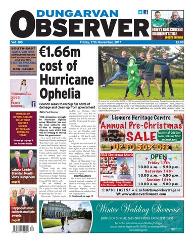 c824f67321f486 Dungarvan observer 17 11 2017 edition by Dungarvan Observer - issuu