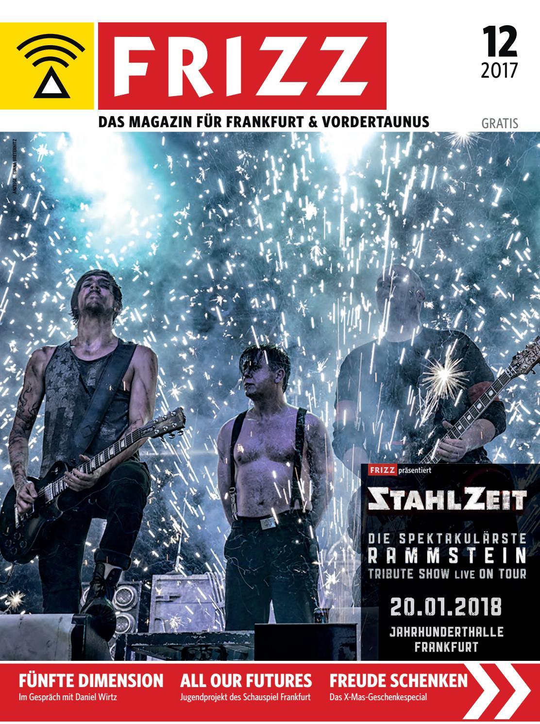 FRIZZ Das Magazin Frankfurt Dezember 2017 by frizz frankfurt