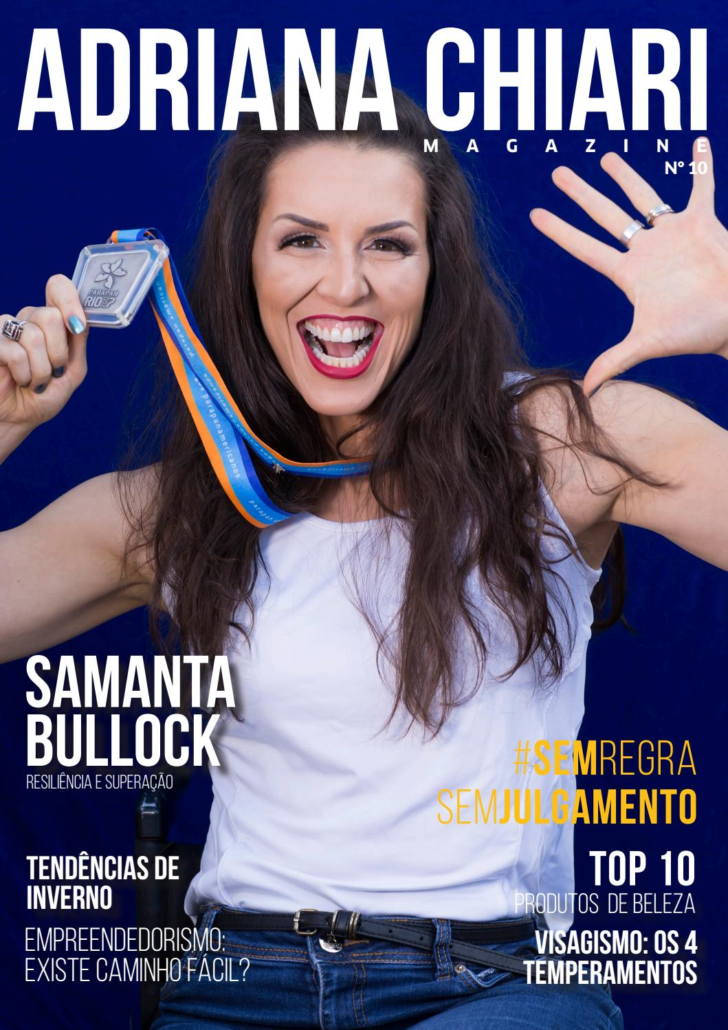 10ª Edição - Adriana Chiari Magazine