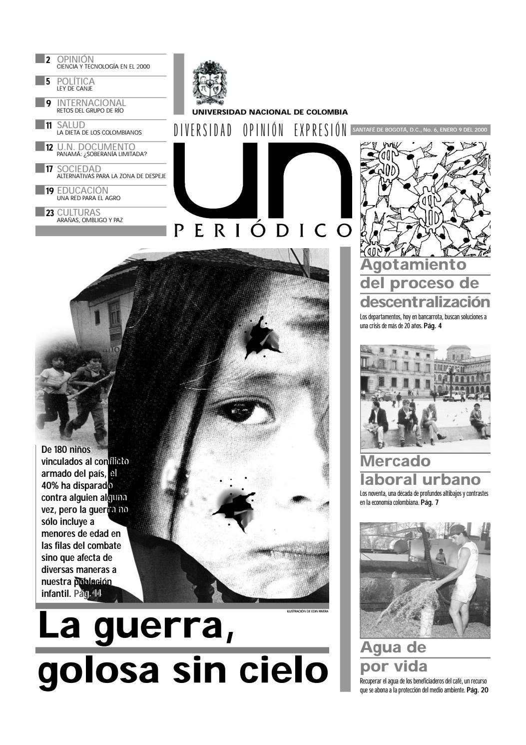U.N. Periódico No. 6 by Unimedios - Universidad Nacional de Colombia ...