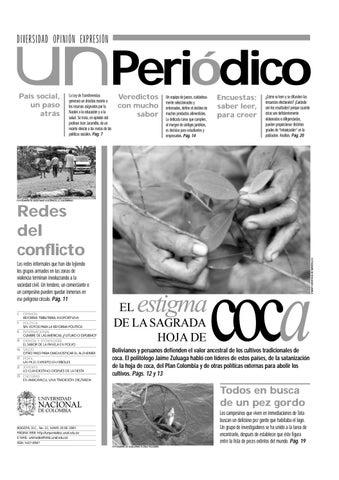 U.N. Periódico No. 22 by Unimedios - Universidad Nacional de ...