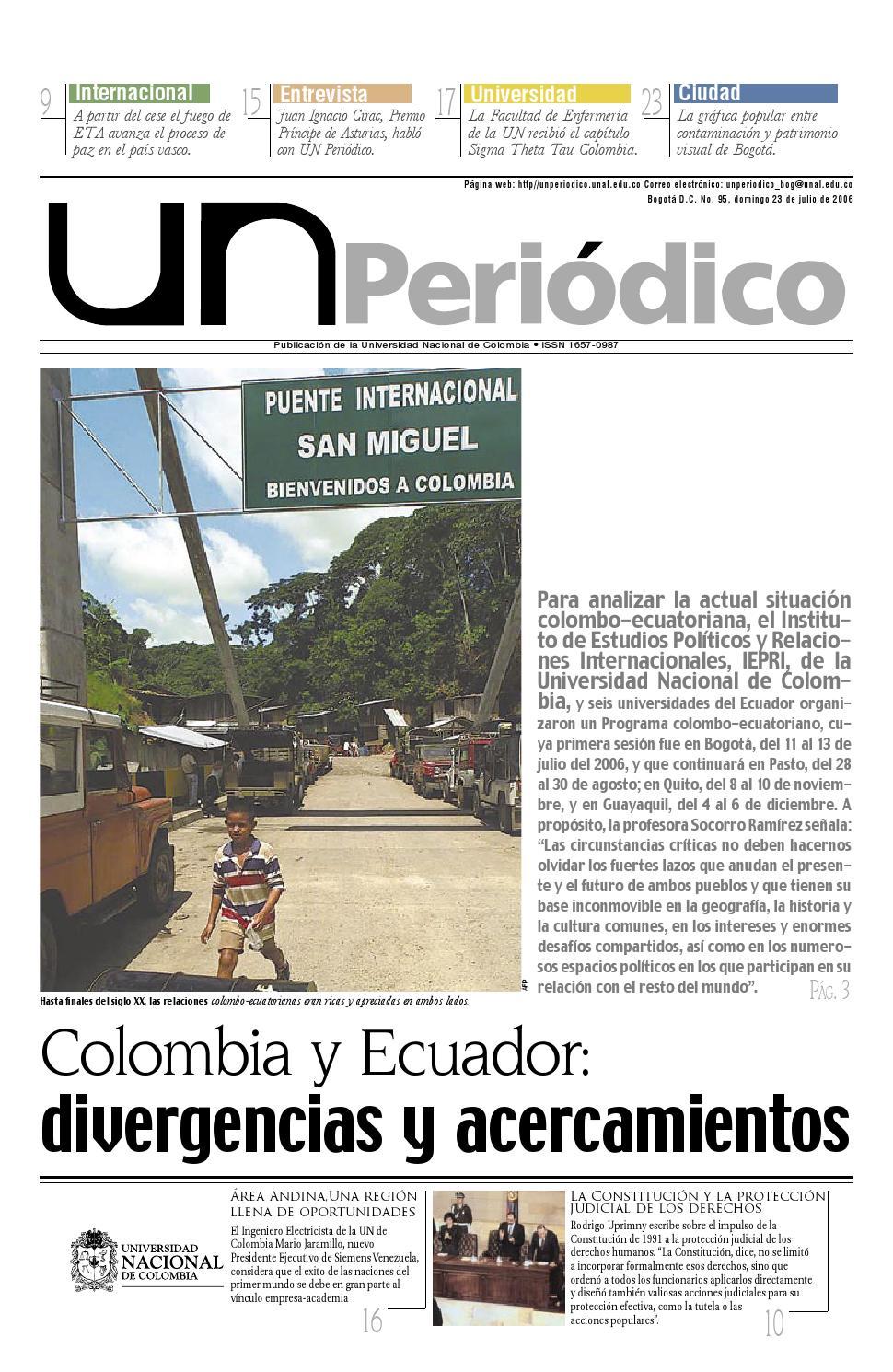 5f6a66cf25457 U.N. Periódico No. 95 by Unimedios - Universidad Nacional de Colombia -  issuu