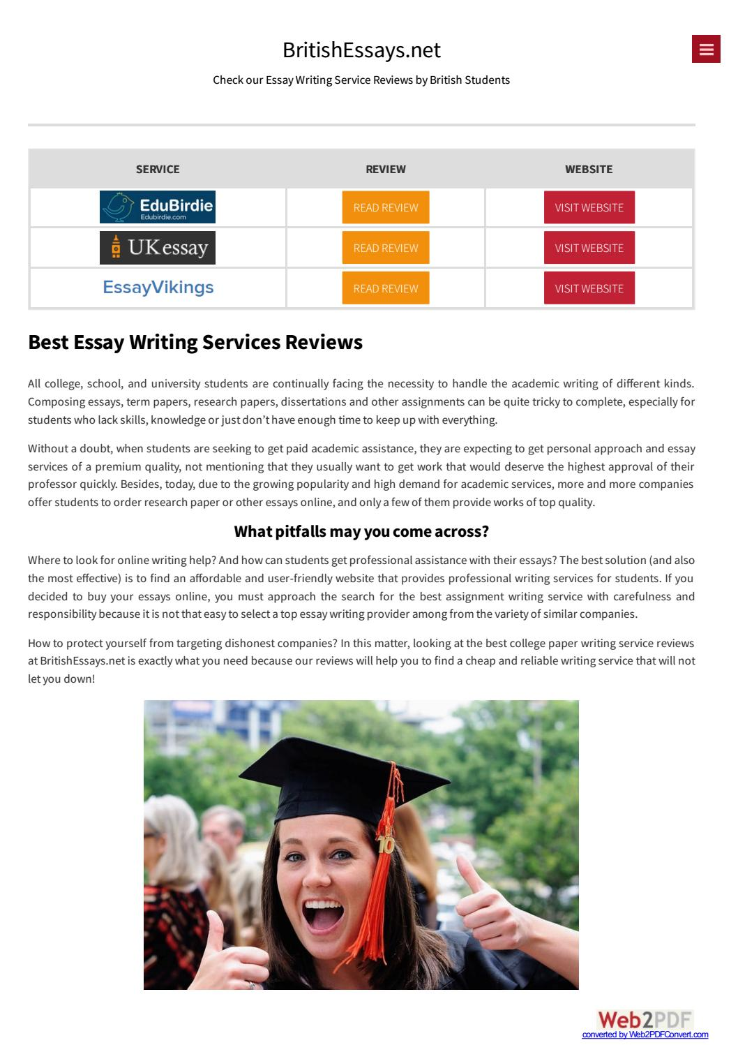 Top 10 Best Research Paper Writing Services