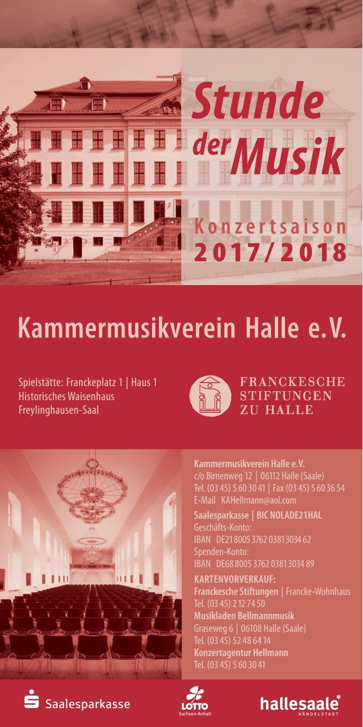 Stunde der Musik 2017 2018 by music I services - issuu