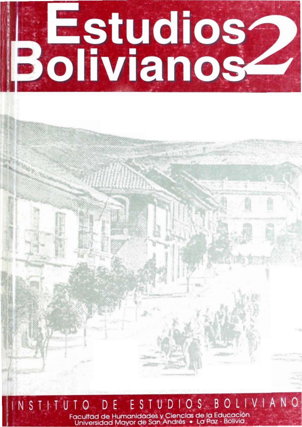 Estudiosbolivianos002 by Postgrado Humanidades UMSA - issuu