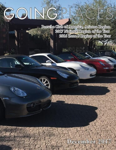 42210317bfde AZPCA Going Places December 2017 Newsletter by Porsche Club of ...