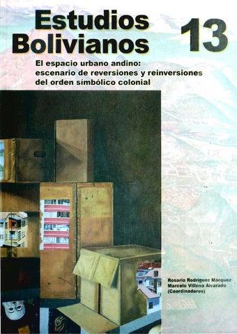 Estudios Bolivianos 013 by Postgrado Humanidades UMSA - issuu e7e900630e2