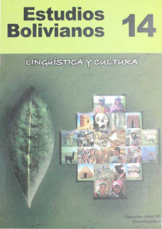 Estudios Bolivianos 014 by Postgrado Humanidades UMSA - issuu