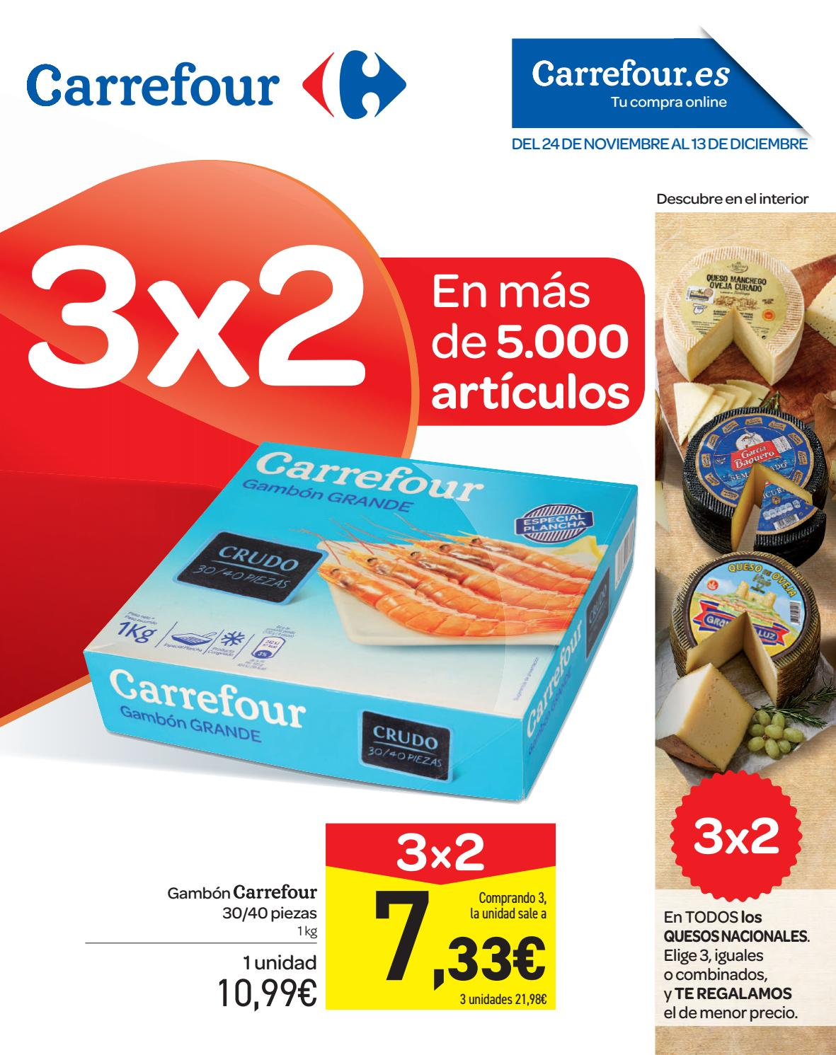 3×2 En Mas De 2 000 Articulos Carrefour By Ofertas Supermercados  ~ Pinzas Sujeta Sabanas Carrefour