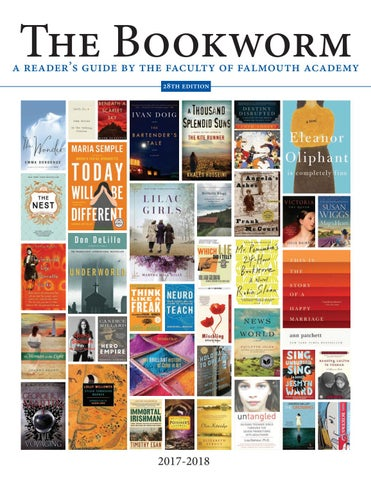 The 2017 Bookworm By Falmouth Academy Issuu