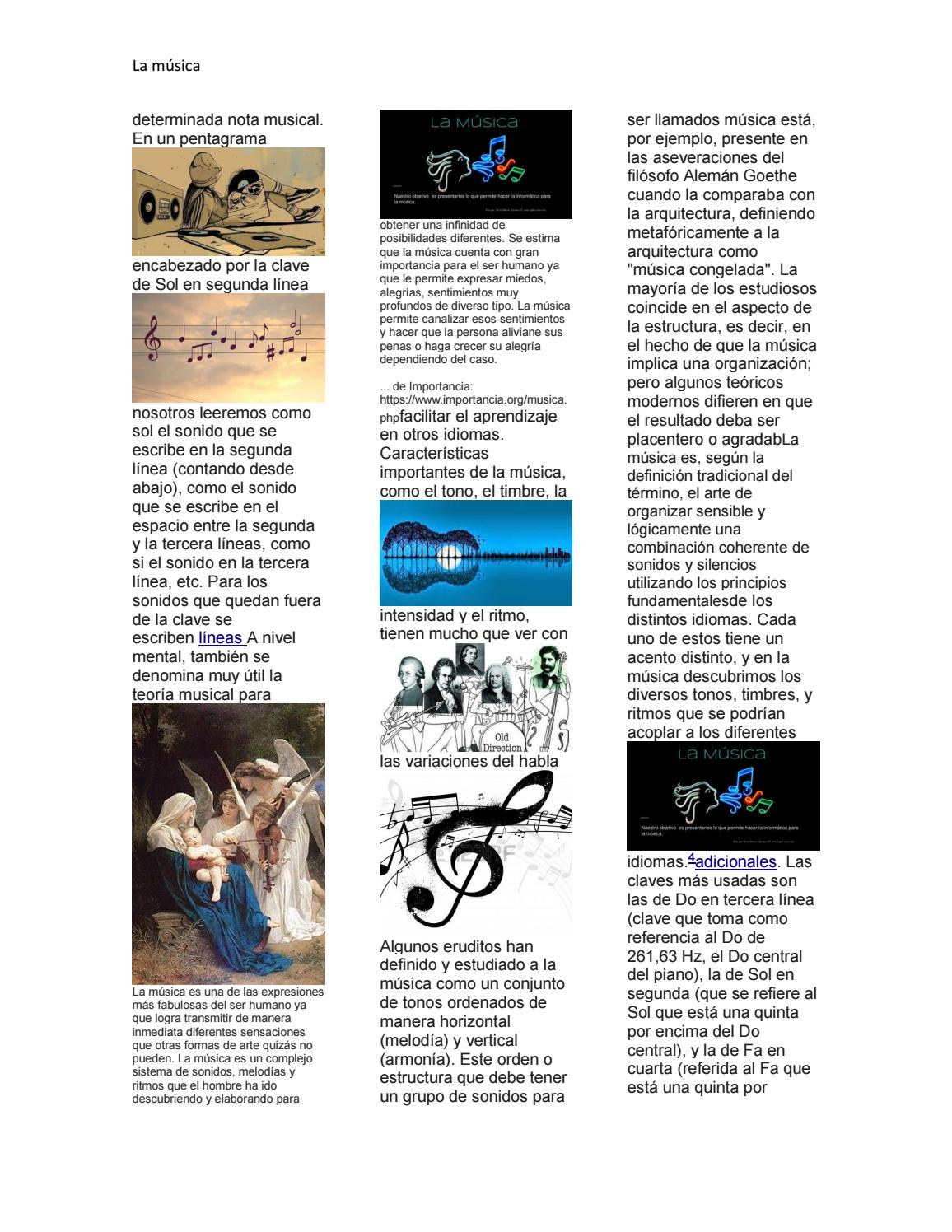 La Musica By Dani Santiago Duarte Coronado Issuu