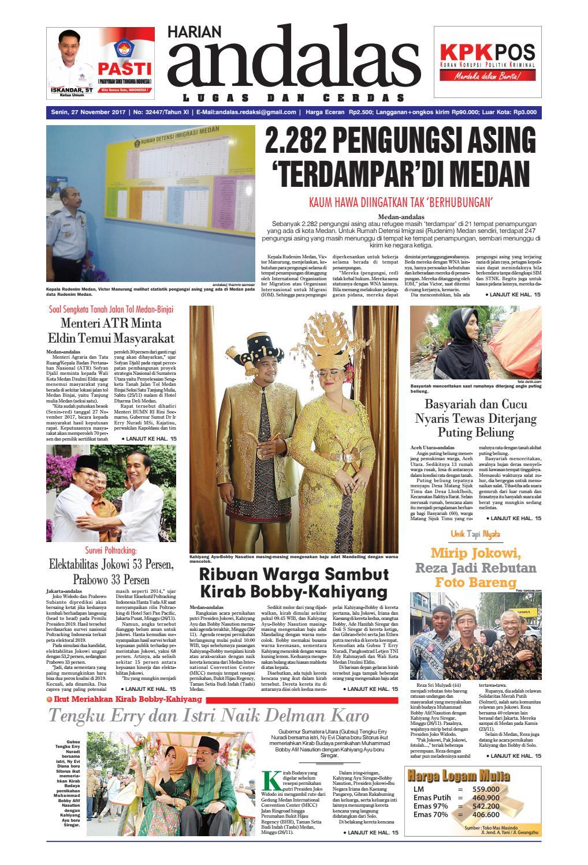 Epaper andalas edisi senin 27 november 2017 by media andalas - issuu 9c06c182fc