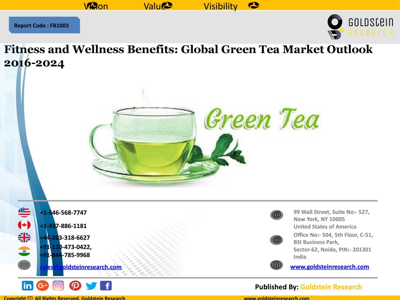 fitness and wellness benefits: global green tea market