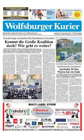 2017 11 26 by Wolfsburger Kurier - issuu