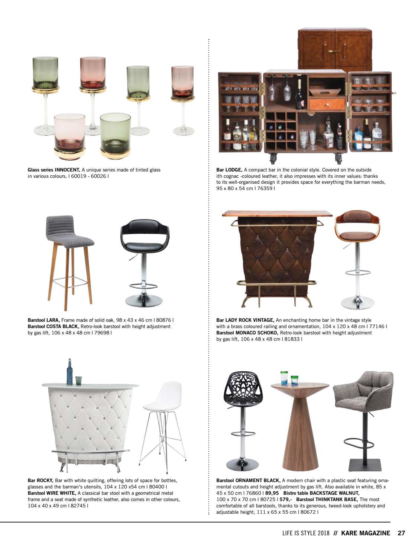 Strange Kare Design Life Is Style 14 2018 By Abitare Living Issuu Machost Co Dining Chair Design Ideas Machostcouk