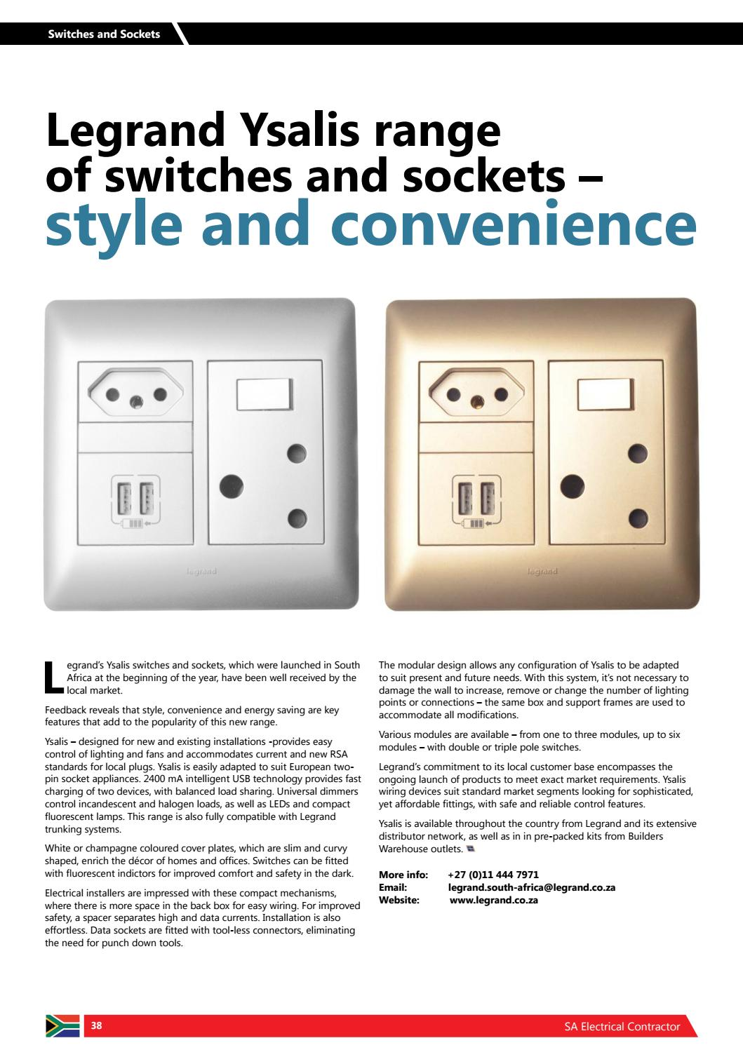 Ecasa 2017 Online By European Association Of Electrical Contractors Wiring Wall Socket South Africa Issuu