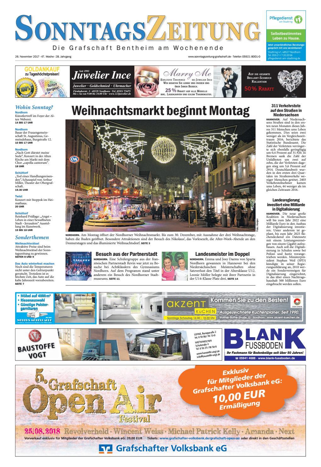 SonntagsZeitung_26-11-2017 by SonntagsZeitung - issuu