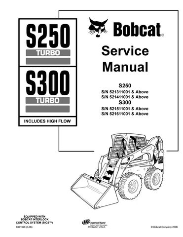 page_1_thumb_large bobcat s300 wiring diagram bobcat wiring diagrams Bobcat 873 Wiring Harness Diagram at gsmx.co