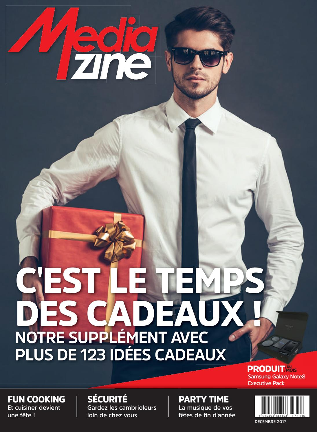 ba381a032d4cce Mediazine Belgique Décembre 2017 by Mediazine België Belgique - issuu