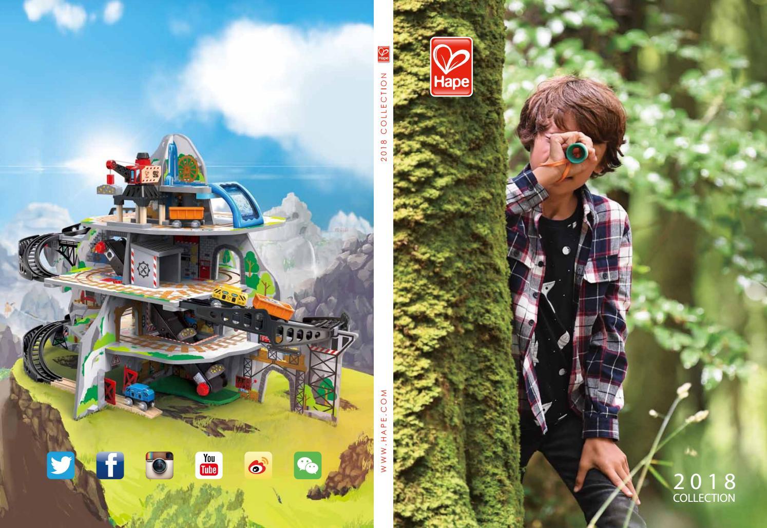 Hape Pepe Rainbow Wood Sound Stacker Toy Hape Inc E0448