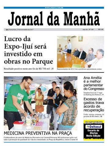 6a647e8c9 Jornal da Manhã - Sexta-feira - 24-11-17 by clicjm - issuu