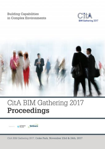 Gathering proceedings 2017 by Construction IT Alliance - issuu