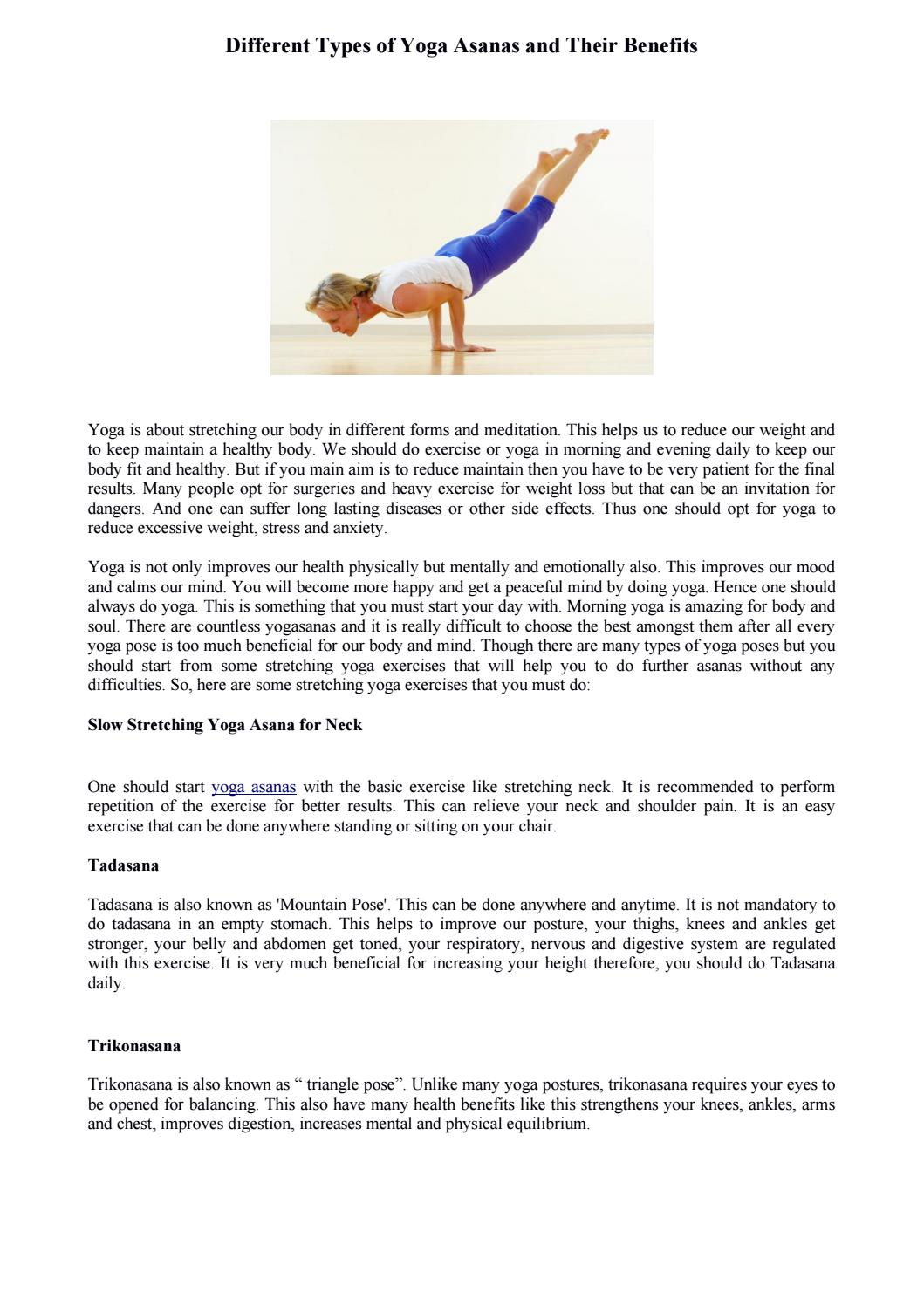 Yoga Asanas How Many