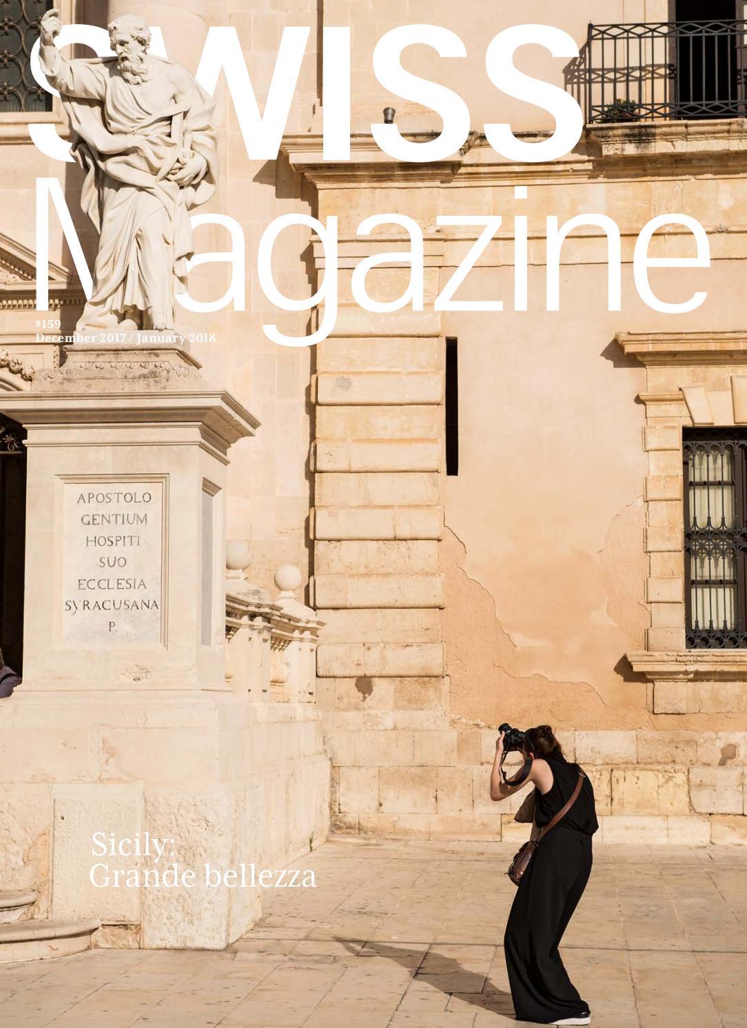 size 40 a743b 16853 SWISS Magazine December 2017 January 2018 - SICILY by SWISS Inflight  Magazines - issuu