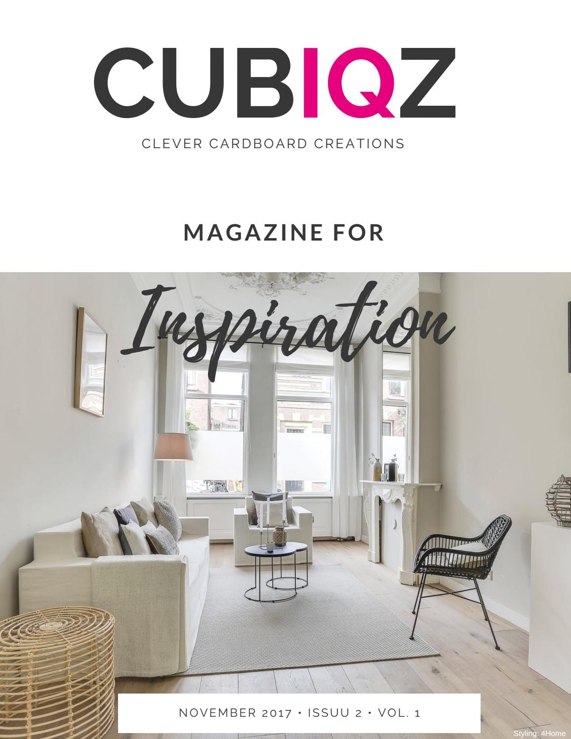 CUBIQZ; Cardboard Furniture For Home Staging By CUBIQZ   Issuu