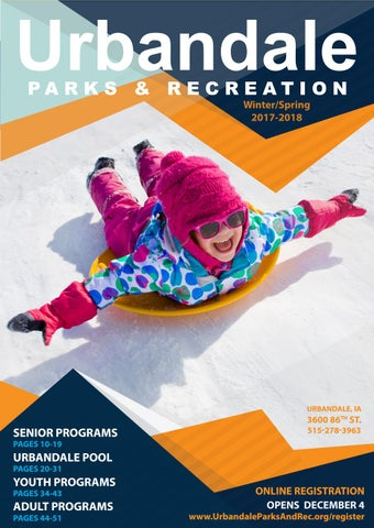 be2779990648 2018 Winter Spring Program Guide by Urbandale Parks and Recreation ...