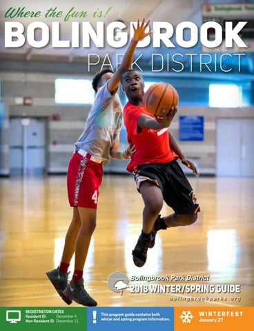 17cd882e9 A Letter from the Executive Director Bolingbrook Park District s mission is  to provide world class parks and recreation services in a fiscally  responsible ...