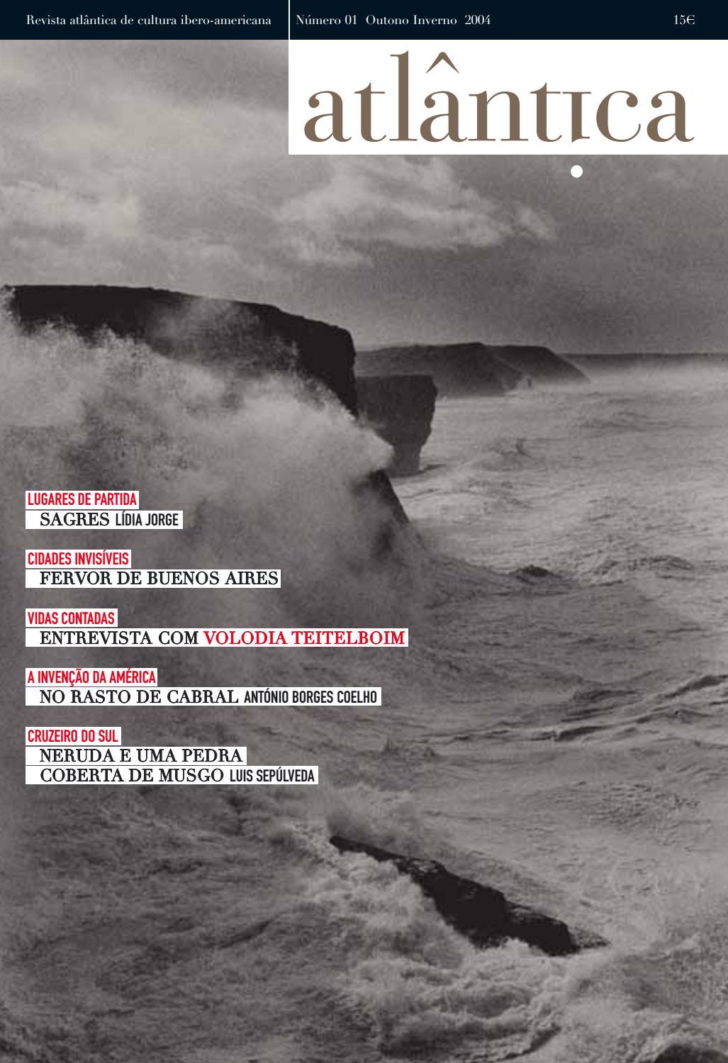 f6190a2dbfe3d Revista Atlântica de Cultura Ibero-Americana 01 by icia - issuu