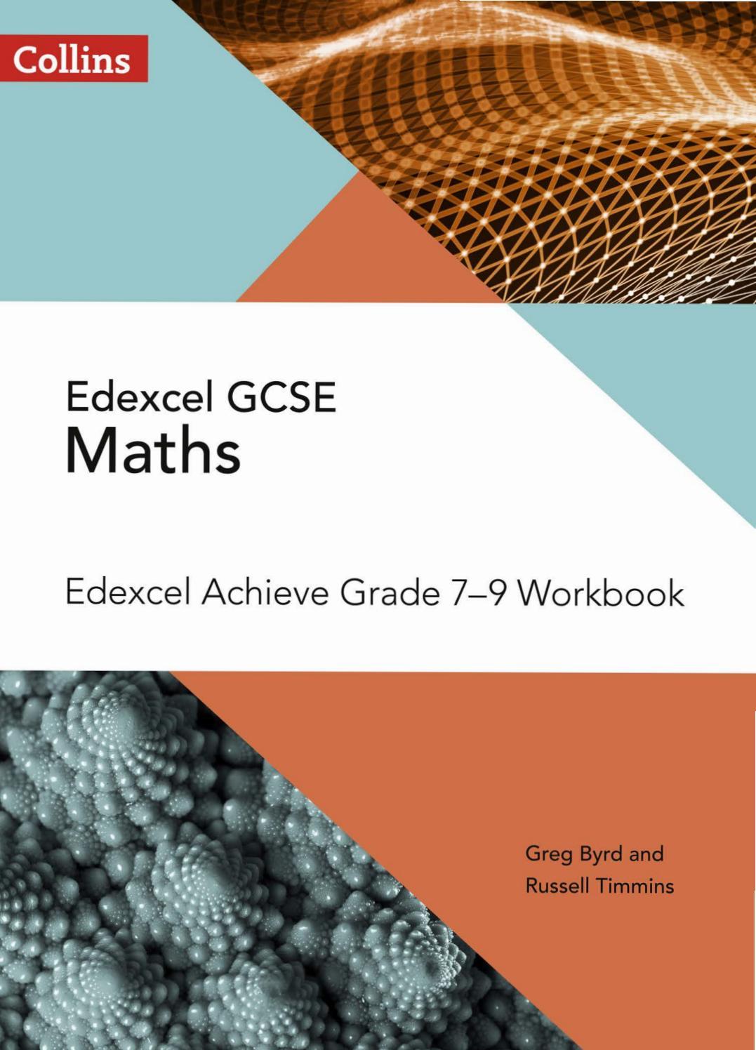 GCSE Maths Edexcel Achieve Grade 7-9 Workbook Sample Chapter by ...