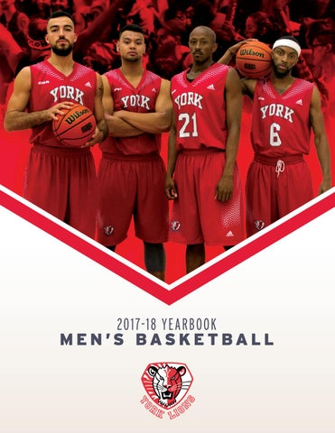 2017 18 Men S Basketball Yearbook By Yorkulions Issuu