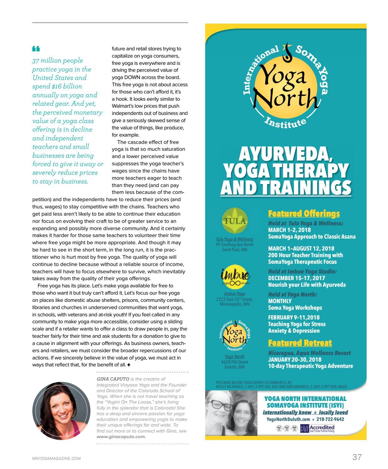 Mn Yoga Life Winter Spring 2017 18 By Yoga Life Magazines Issuu