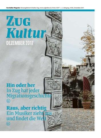 Zug Kultur Magazin Dezember 2017 45 By Zug Kultur Issuu