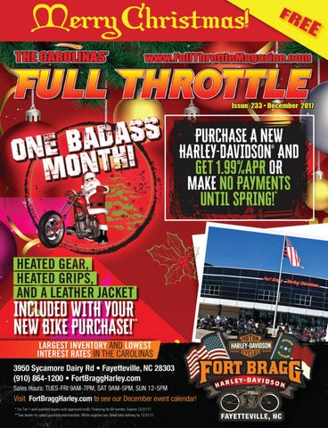 d496d5a352f December 2017 - Issue  233 by The Carolinas  Full Throttle Magazine ...