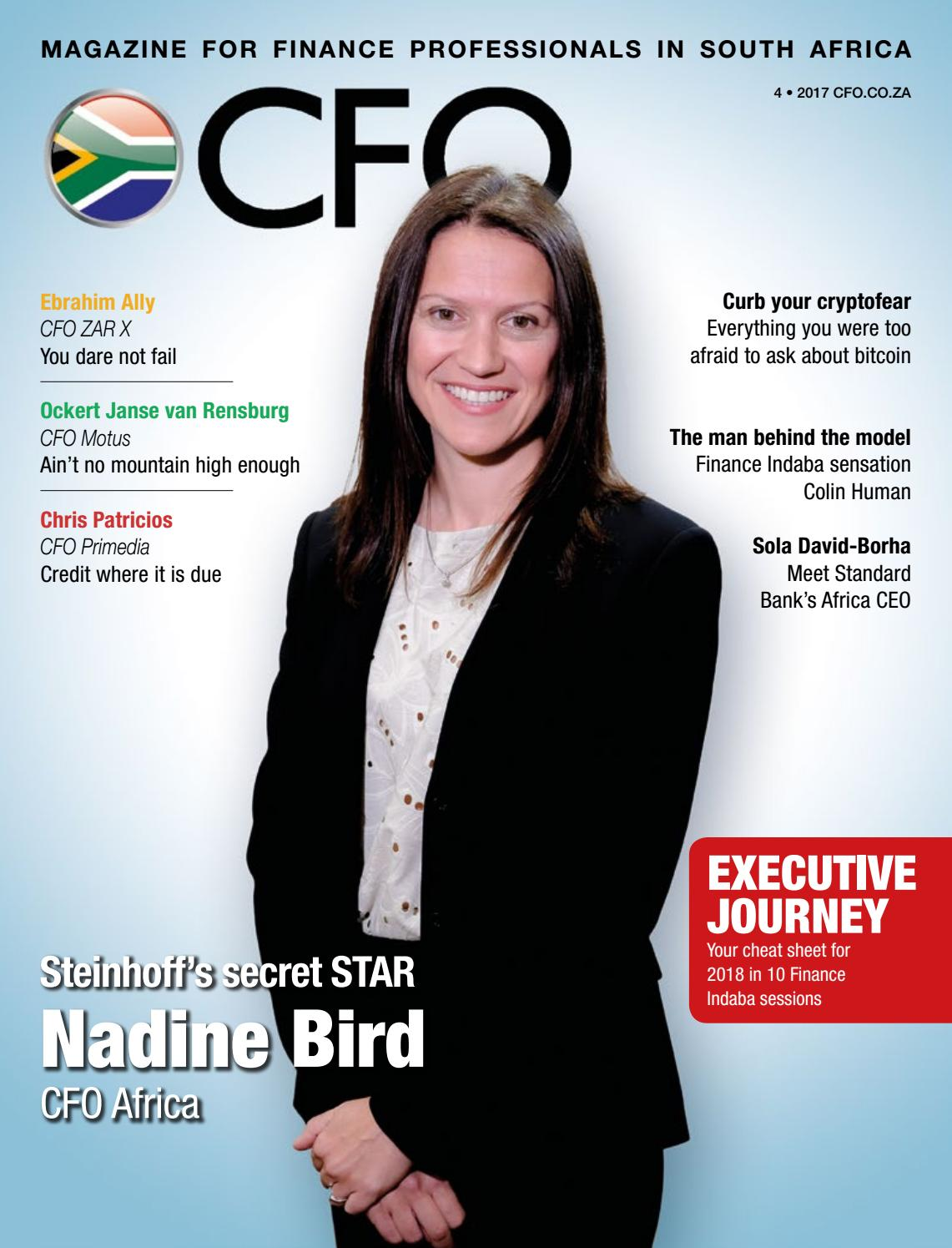 cfo magazine 2017 4th issue by cfo south africa issuu