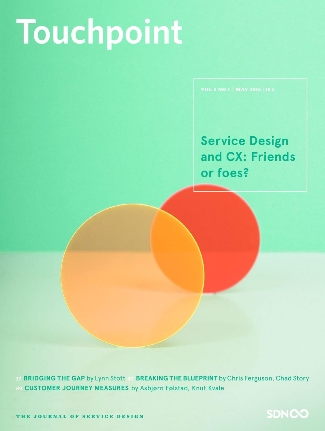 Touchpoint vol 8 no 1 service design and cx friends or foes by 1 service design and cx friends or foes by service design network issuu malvernweather Gallery