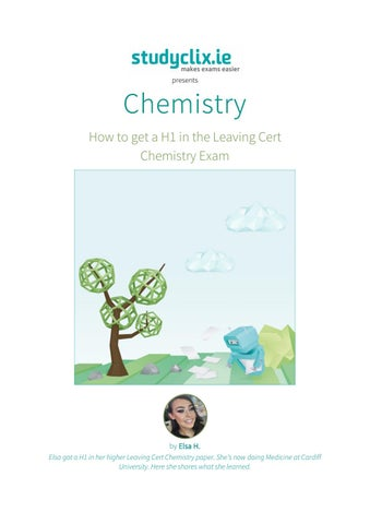 Chemistry guide (done) by Studyclix - issuu