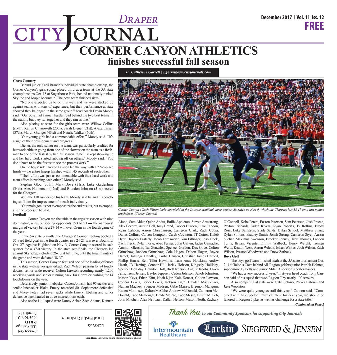 Journals The City Draper December By 2017 Issuu Nm80nw