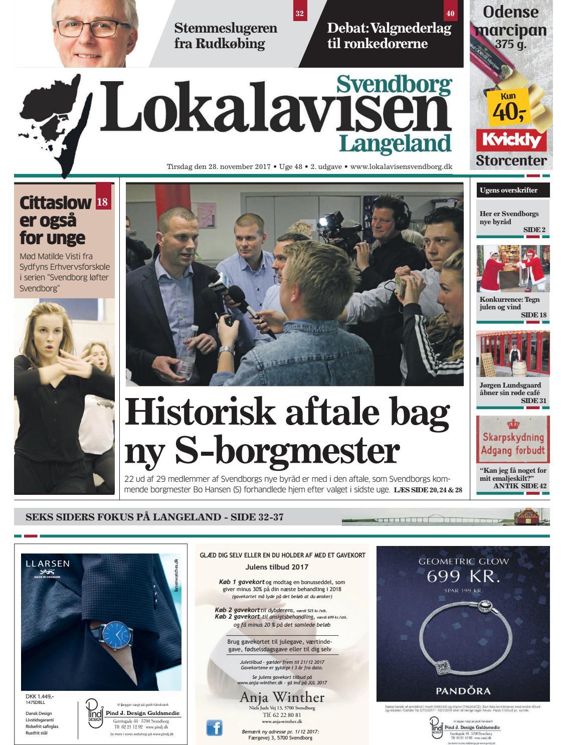 aa3f3dc5bfa Lokalavisen svendborg uge 48 by Lokalavisen Svendborg - issuu