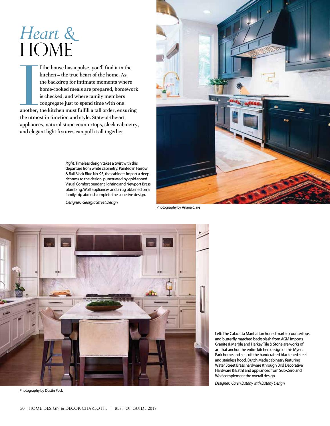 Charlotte Best of Guide 2017 by Home Design & Decor Magazine - issuu