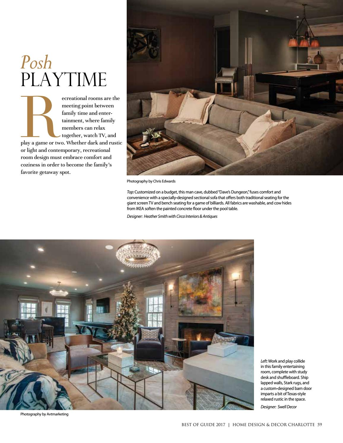 Charlotte Best Of Guide 2017 By Home Design Decor Magazine