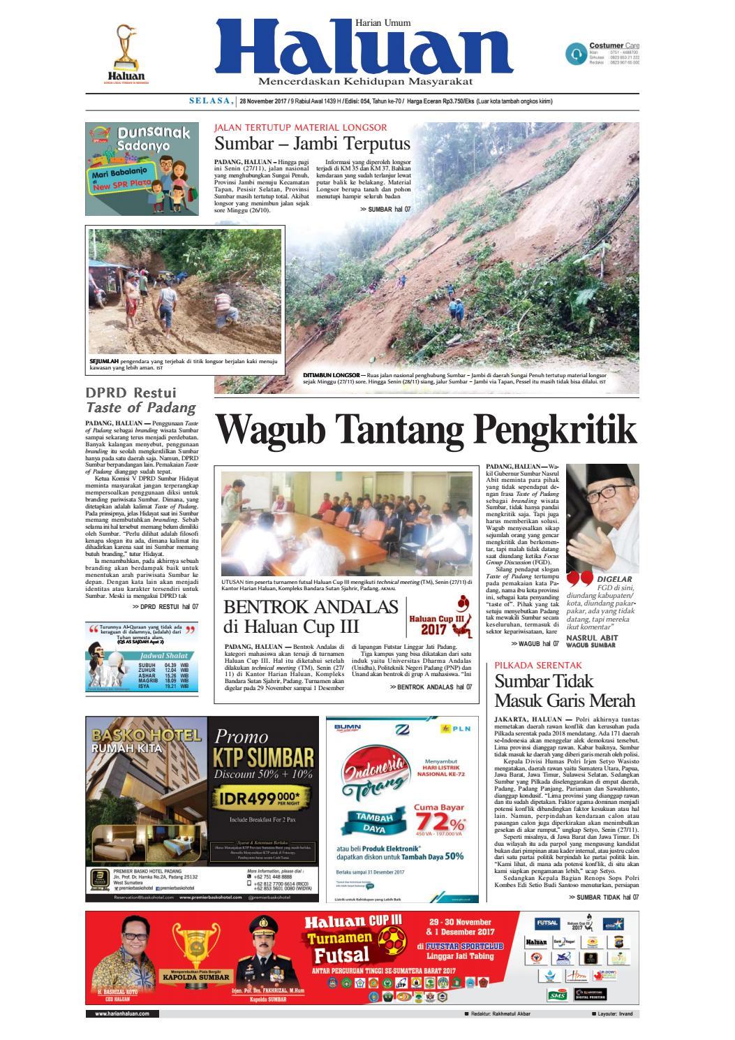 Haluan 28 November 2017 By Harian Issuu Produk Ukm Bumn Songket Durian