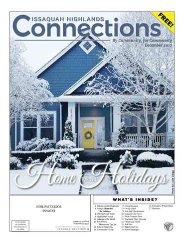 ef5baa63c88 December 2017 by Issaquah Highlands Connections - issuu